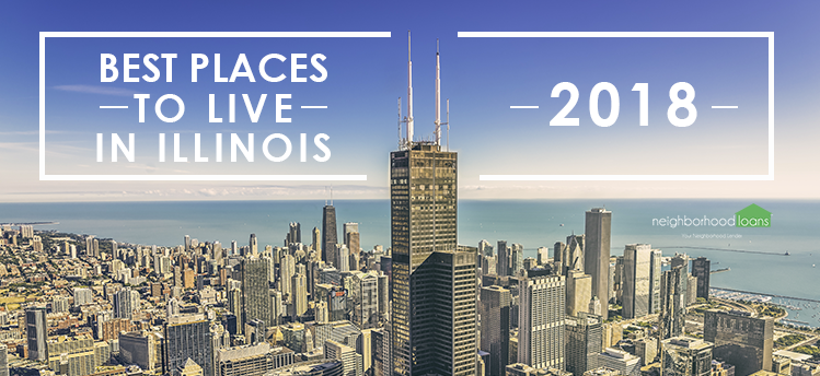 best cities to move in Illinois